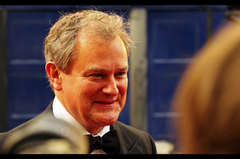 I recognise Hugh Bonneville not so much because I watch or have watched Downton Abbey, but I recall him from  the premiere of Monuments Men , where I took better photos of him.