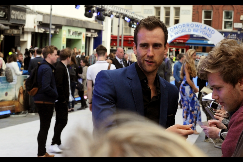 Late, and entirely random arrival : Matthew Lewis, who played Neville Longbottom in all of the Harry Potter movies. So good news for young people wanting to feel old : Hogwarts Students are now sporting heavy stubble.