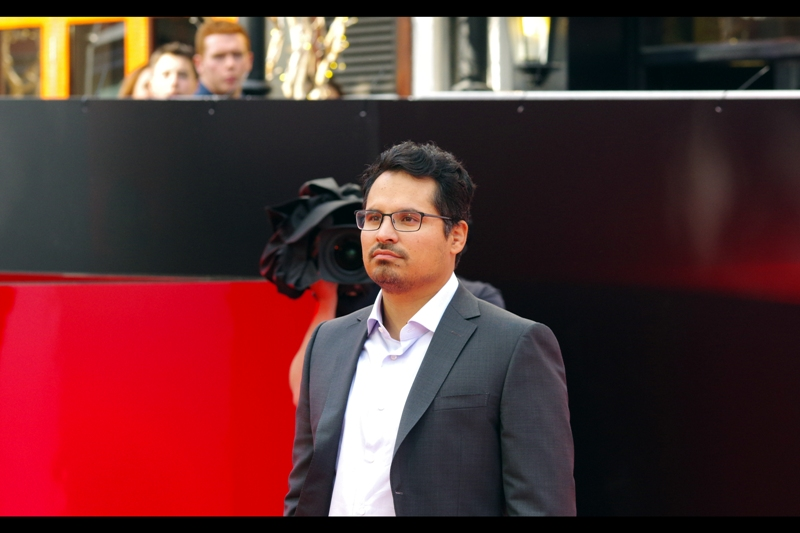 """I'm going to stare into the middle-distance until those people behind me can name at least one movie I've been in"" . Michael Pena was excellent in End Of Watch."