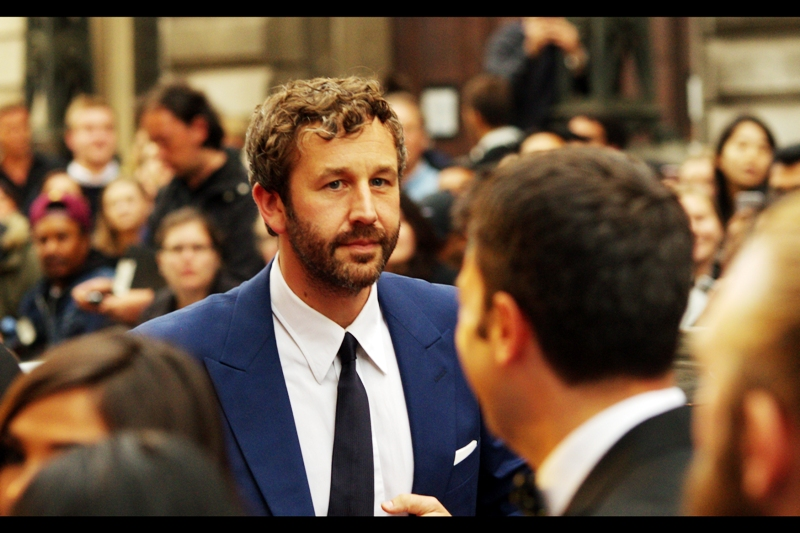 OMG - that's Chris O'Dowd. (He's an actor, probably best known for being in the rather awesome Brendan Gleeson movie 'Calvary', but he was Natalie Portman's character's (brief) boyfriend in Thor The Dark World). Also, I think his suit is more and better ironed that his shirt, which is great.