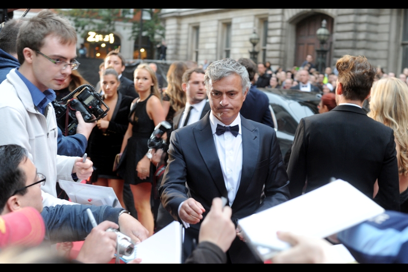 Jose Mourinho is the current (and also simultaneously) former Manager of premier league club Chelsea, which is possible if you think about it four-dimensionally. He won the 'award' for 'Editors Special' which sounds even more like 'name of award we just made up' than the other awards.