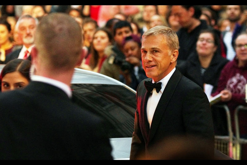 Two-time Academy Awards winner Christoph Waltz is not only the bad guy in the upcoming James Bond movie 'SPECTRE', but he's the guy who gives me personally a Kevin Bacon score of 3. Sadly I'm not on imdb.com.... and he won the 'Actor' award for the evening. Because two Academy Awards are one thing... it's when GQ says that you've made it that it REALLY counts.