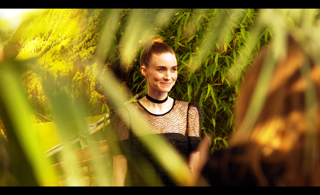 Why yes, I will totally photograph a beautiful woman through foliage. (As long as this sentence is never used in a court of law as a form of implied confession, I mean).