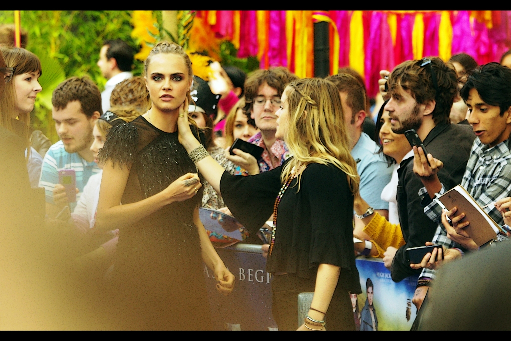 Of course, the tragically unfair reality is that when I see Cara Delevingne I see one thing, while when Cara Delevingne sees me she sees something entirely different. I still maintain we're both the same species.