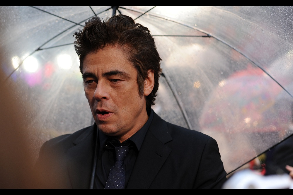 """Being The Collector in Guardians of the Galaxy was a lot of fun. I kept the wigs. And the glasses. I'm not wearing either right now"".  Benicio Del Toro won his Oscar for best supporting actor for traffic in 2000... but I kind of have a soft spot for his performance in the James Bond film 'License to Kill'"