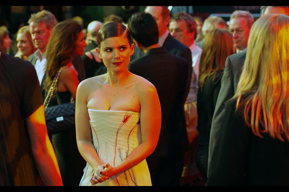 """""""You like my dress? Lie if you have to""""  It's only been a mere four days since I photograhed Rooney Mara at  the World Premiere of 'Pan' ... and now I've photographed her sister Kate Mara as well"""