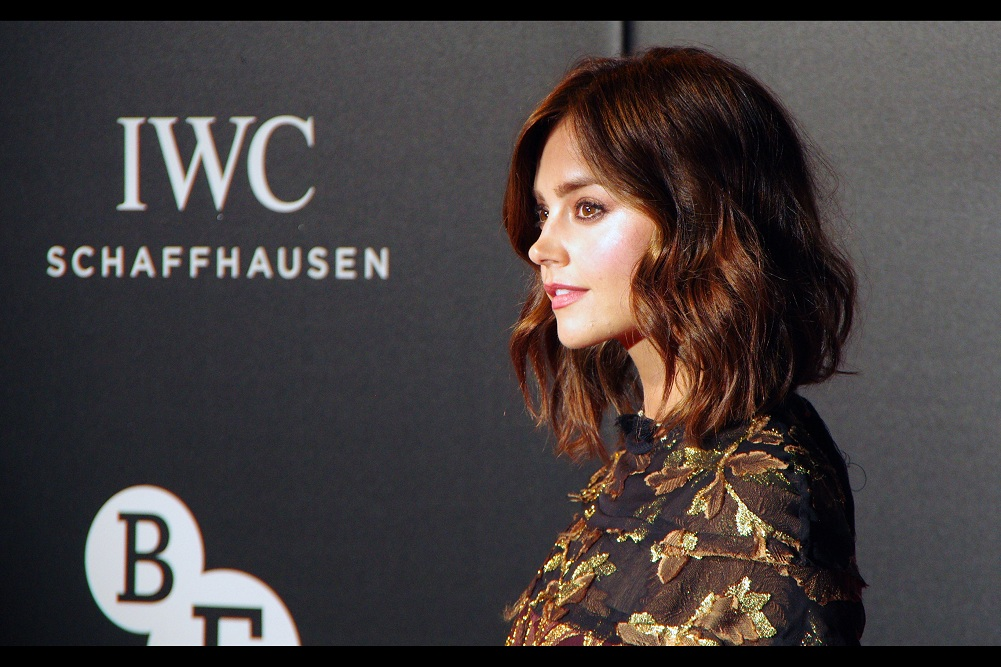 Can't... stop... photographing.... Jenna... Coleman. (I make no apologies for this, and the number of photos I'm posting of her. If you're here for Tom Hiddleston photos, those are further below.)