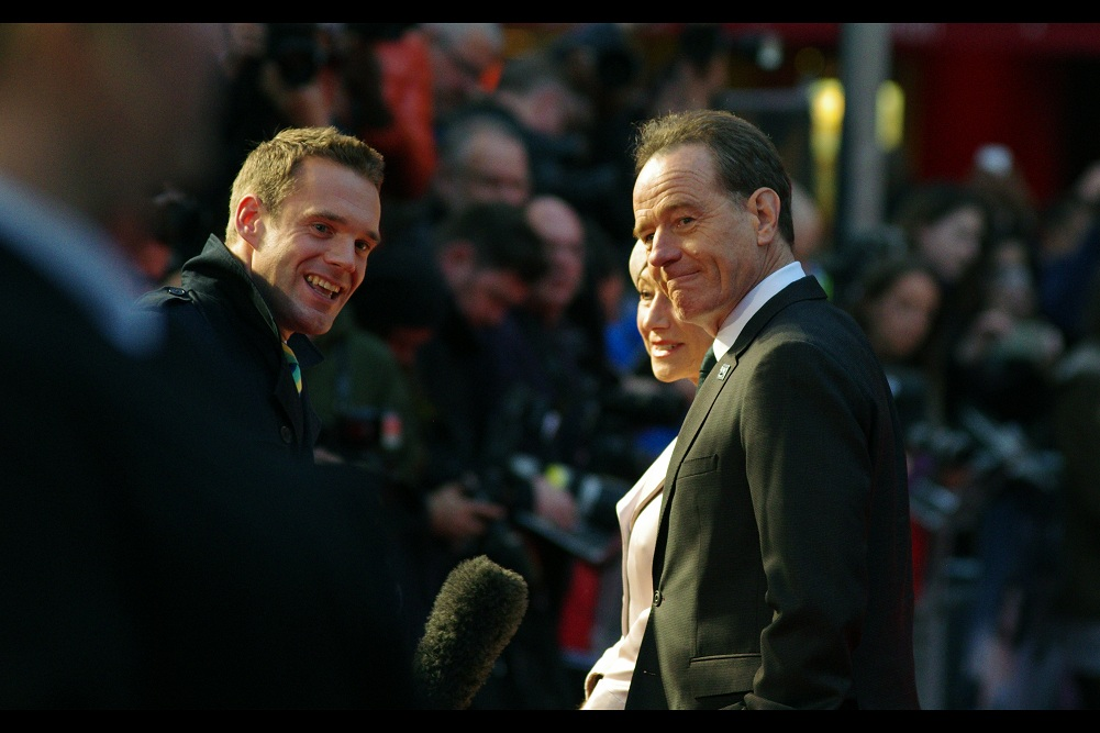 """""""Why yes, I'm feeling much better now""""  - Bryan Cranston is best known for being in (and winning 4 prime time Emmy Awards for best actor for) the TV series 'Breaking Bad'. And an unfortunately brief role in 2014's 'Godzilla'."""