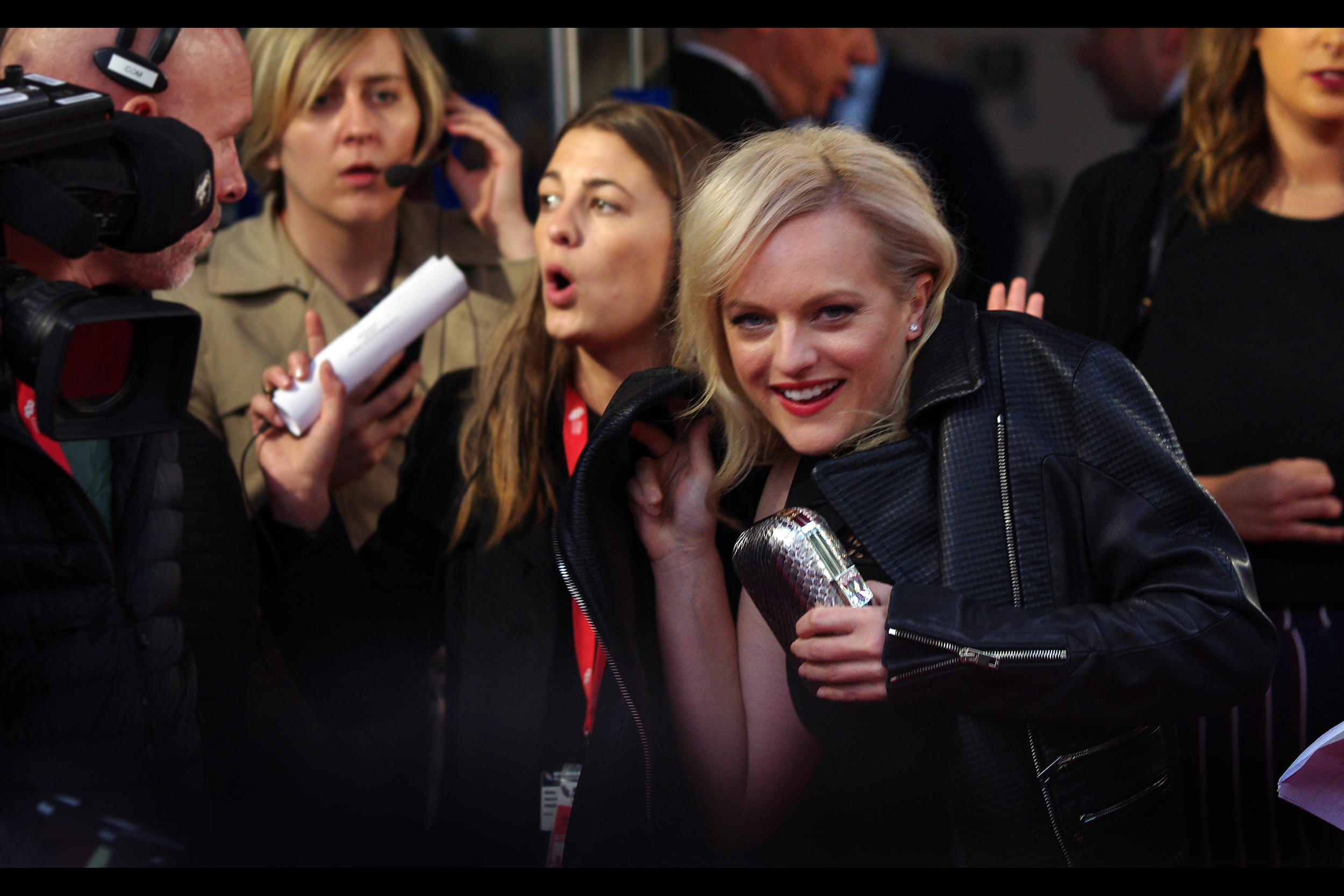 I think Elisabeth Moss would be very cool to have as a friend. Might track her down on facebook.