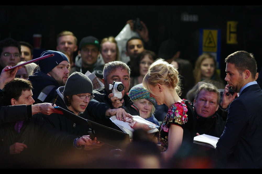 """""""I'm fairly sure that's not a picture of me, but rather Nicole Kidman"""" """"Holy crap... you may be right. Could you sign it AS her, though?"""""""