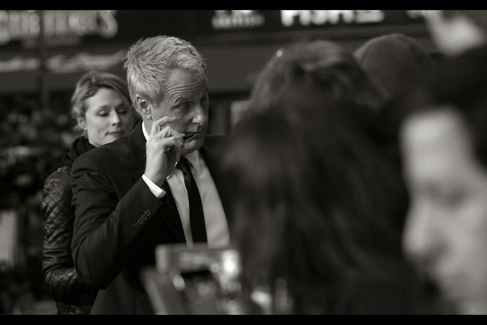 """""""Nothing like a finely aged... wait... what do you mean the pigment in this pen isn't alcohol-based??""""  Jeff Daniels is the first arrival, and up until a few weeks ago at  the premiere of 'The Martian'  I'd never photographed him before."""