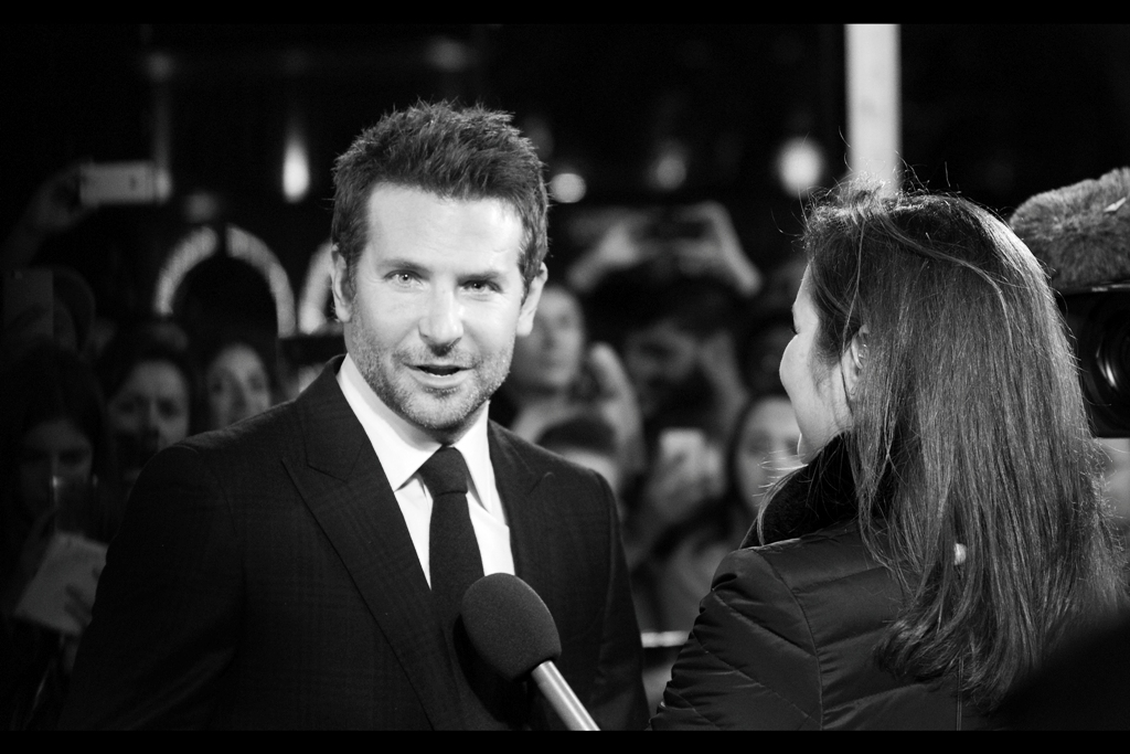 Despite the lack of incredulity in his face being more than mine, Bradley Cooper has actually had four Academy Award nominations, including three for acting. (Although none for any of the films in the 'Hangover' trilogy)