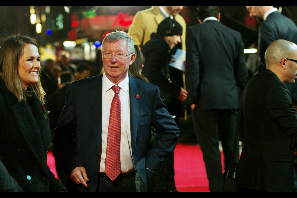 Wikipedia helpfully informs me that in 26 years at Manchester United, Alex Ferguson coached the team to 13 Premiership titles, 5 FA cups and some number of some European championship I'm not sure of the name of and it's late and I don't care quite as much as I should.