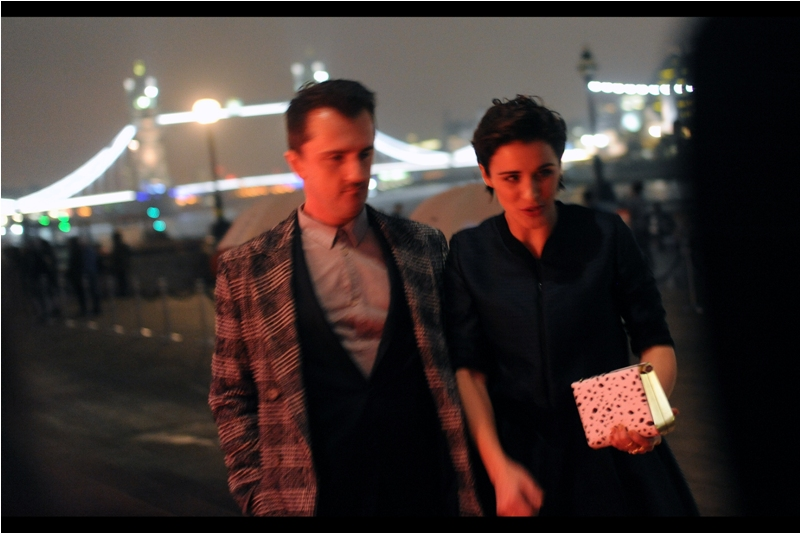 Vicky McClure arrives (I remember her from this year's TV Baftas)... but I'm going to be honest I'm a bit worried. This event is meant to start (inside) at 7:30pm and it's already 6:45pm..... and I've seen The List of attendees. Where are THOSE attendees?