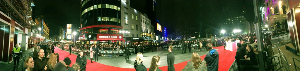 Premiere pre-amble gives me a chance to trial the panorama function on my iPhone. Just like Jane Austen would have wanted.