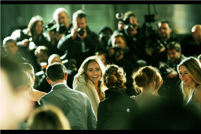 """Sidenote : I last photographed Suki Waterhouse, wearing brown hair instead of blonde, at  the premiere of """"Love, Rosie""""  back in 2014, when the Odeon West End still existed, instead of being the hole in the ground it currently is. Times are changing.... and I'm not just talking about adding zombies to literary classics."""