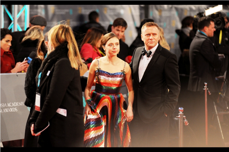 Bel Powley was another nominee for the (insert name of company that only provides arbitrary network coverage for texts in central London when it feels like it) Rising Star Award. Her dress is also kind of great - I'm not sure if it's nominated for anything, but it should be.