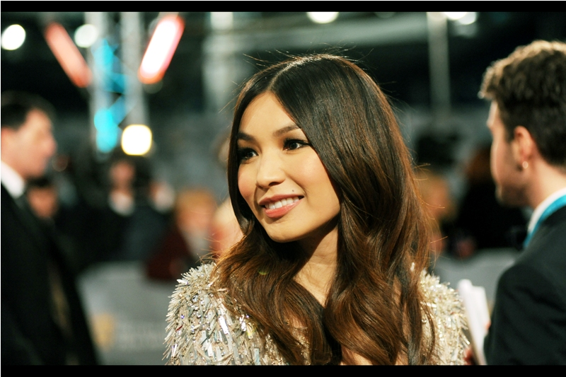 """""""You remember The Double? That's awesome!""""  - The Double (with Mia Wasikowska and Jesse Eisenberg) is a hugely underrated movie, however I last photographed actress Gemma Chan at  the premiere of Jack Ryan : Shadow Recruit  in 2014.. which nobody remembers either."""