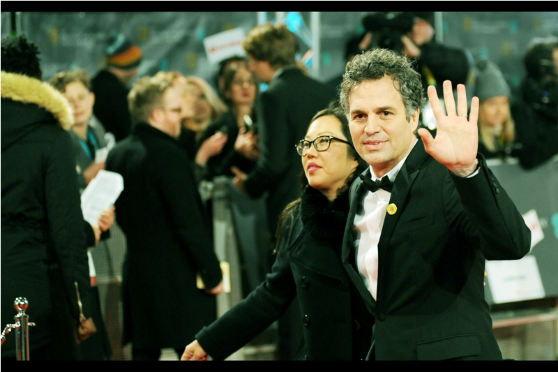 """""""Air High-Fives. Everyone's doing them now. Even Spielberg.""""  - Mark Ruffalo was nominated for Best Supporting Actor for  'Spotlight' whose premiere was last month . The winner in that category ended up being Mark Rylance, who was excellent in 'Bridge of Spies' but who is doing theatre in New York and couldn't attend. Steven Spielberg accepted the award on his behalf."""