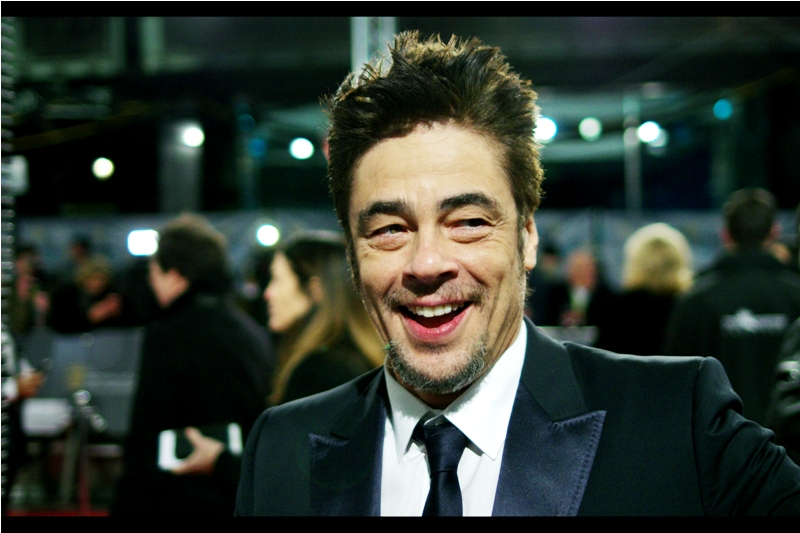 """""""Revenant might get all the awards, but at least Sicario was funnier, no?""""  Benicio Del Toro was nominated for  Best Supporting Actor for Sicario , and if that movie was in any way funny, it's could only be when compared to the even greater harrowing-ness of The Revenant."""