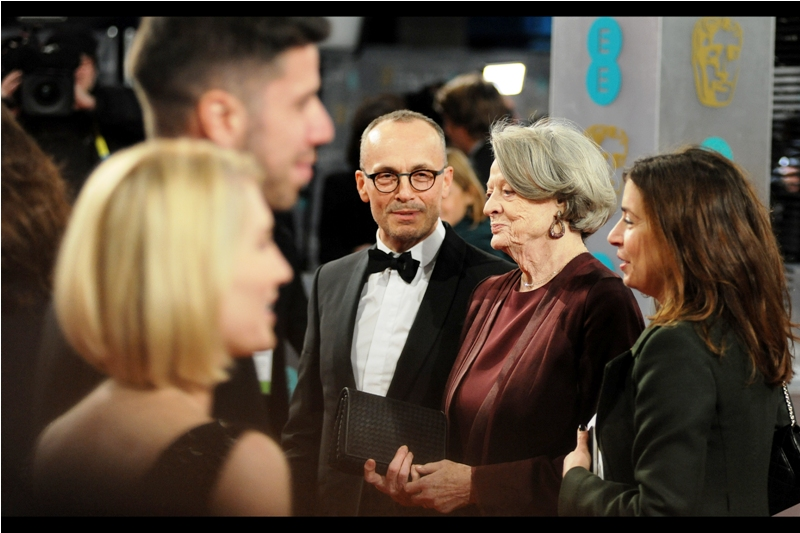 At last year's BFI London Film Festival, I had to choose between premieres for 'The Lobster' and 'The Lady in the Van'.  I chose 'The Lobster' .... I think Maggie Smith hasn't forgiven me.