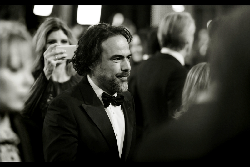 Alejandro González Iñárritu (and yes, I copied that name and the placement of every accent, dipthong and umlaut carefully) directed last year's Oscar-Winning 'Birdman', as well as this year's Bafta-winning 'The Revenant', whose premiere I sadly missed.