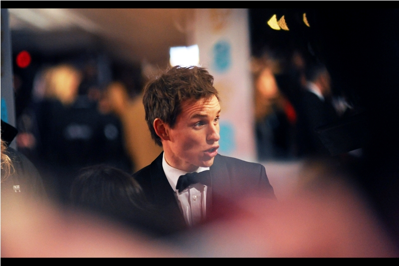 """""""Next role? Pro Wrestler. I'm aiming to triple my current bodyweight""""  To continue on from Stephen Fry's joke, Eddie Redmayne's last few roles were of a Man trapped inside his body ( 'The Theory of Everything' ) and of a Woman trapped inside a Man ( 'The Danish Girl' ). To that I'd add that since then he was a Man trapped inside a Wachowski film ('Jupiter Ascending')"""