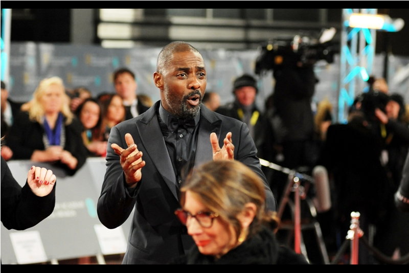 """""""You guys Totally Rock for coming out here and supporting British cinema.. even if by doing so you've all proved you don't have loved ones to spend Valentine Day with. But we apprecite it""""  Thanks, Idris Elba."""