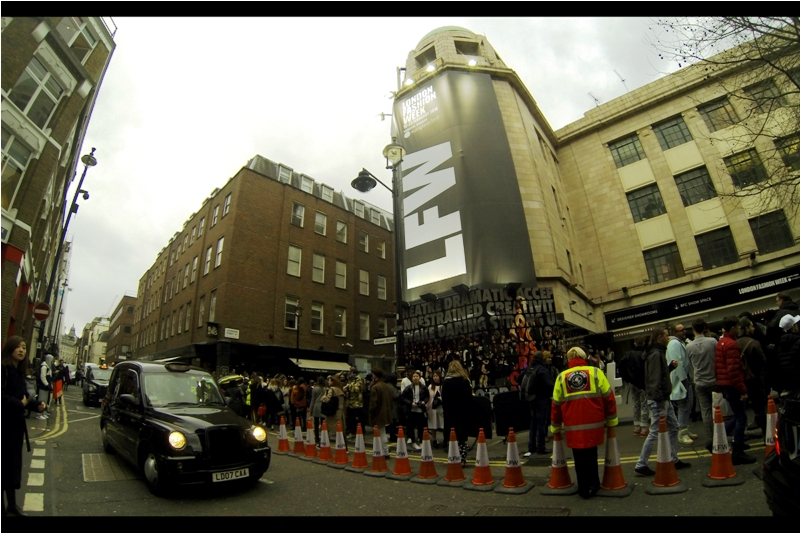 Dear London Fashion Week... why not let London's cab drivers, delivery vans, and couriers know that there's a fashion week on so they don't add to the already extreme traffic?