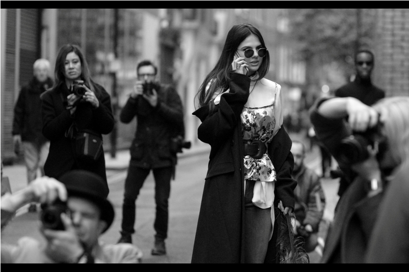 """""""Julie, there's photographers EVERYWHERE... and none of them are photographing me...."""""""