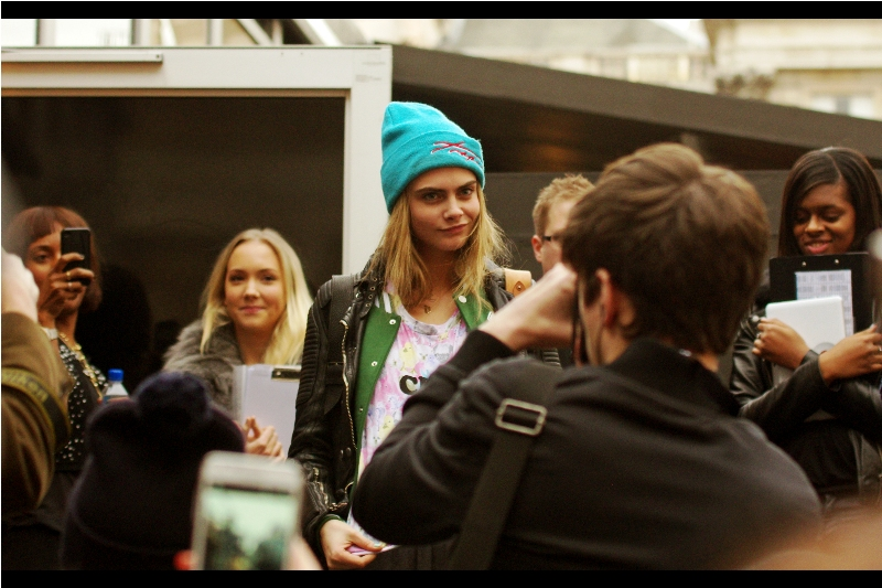 Me, 2013 : Oh, look. Some model Me, 2016 : Wow. I photographed Cara Delevingne in 2013...