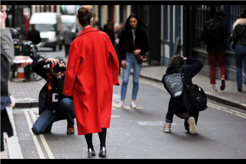 It's going to be sad when, tomorrow, the process of taking photos of random good-looking and/or well-dressed strangers on the street will once again be viewed with suspicion...