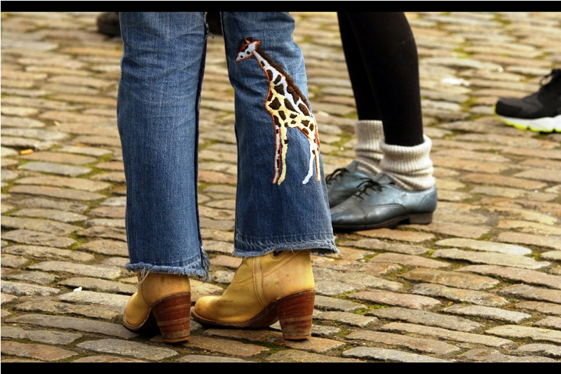 Call now : Our operators are standing by : your generous donation will ensure that no model will ever have to the leave the house with an animal embroidered on only ONE leg of her jeans.