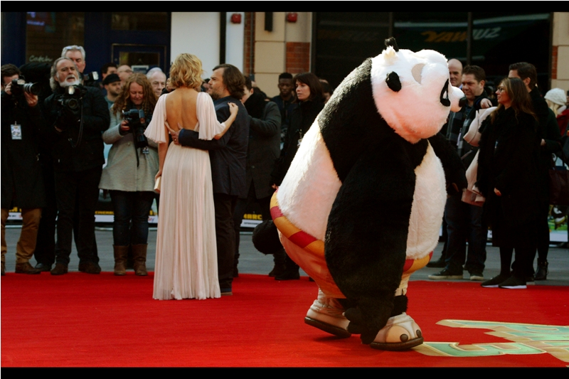 """""""Everyone's eyes are on the man in the panda suit. Kate.. if we want to get everyone's attention I'm going to have to do something neither of our spouses would approve of"""""""
