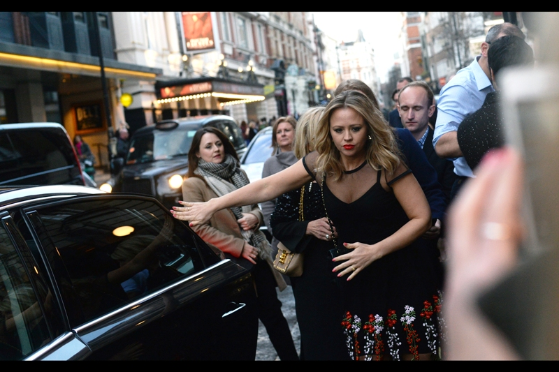 """Well, the impossible has happened : I recognise somebody at this event! Emily Atack was in (among other things) this year's   """"Dad's Army"""" , 2012's  """"Outside Bet""""  and even  the recent 2016 Empire Movie Awards ."""