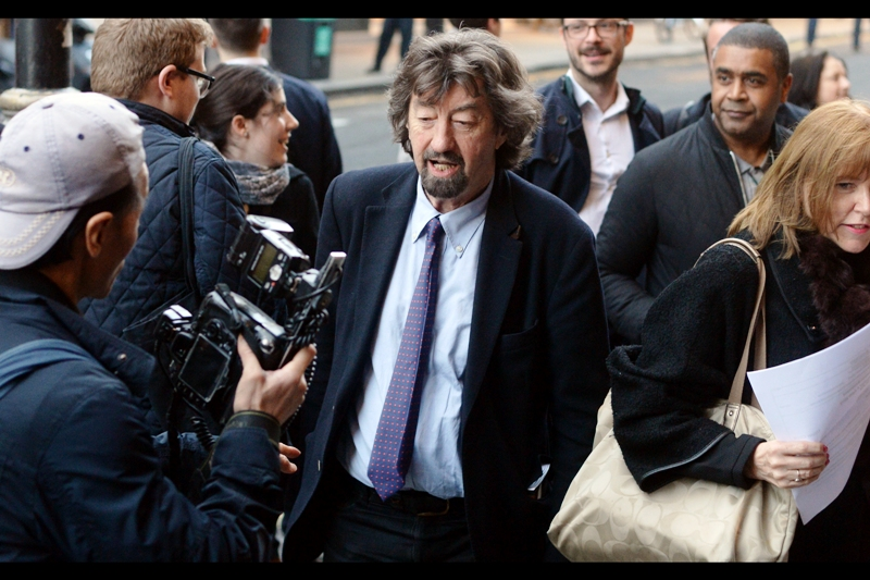 If this is Trevor Nunn (and an online image search strongly suggests that it is), then he's won no less than 4 Olivier Awards for directing plays.