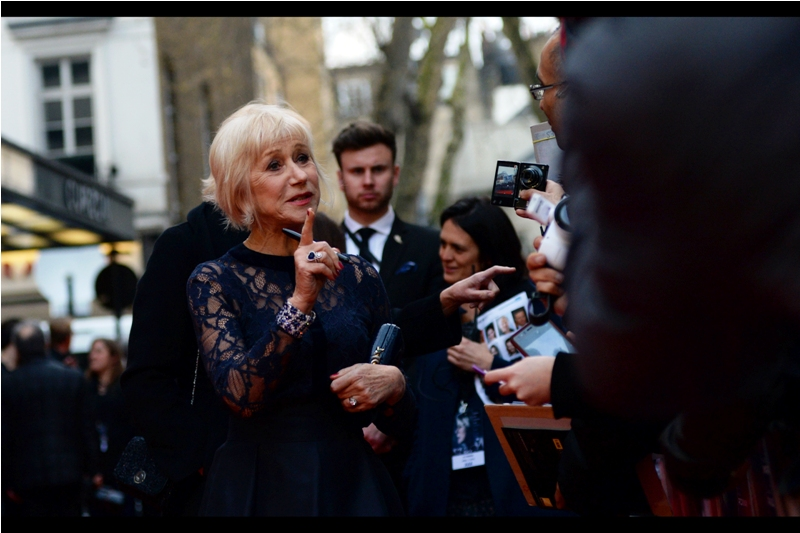 """""""I'm going to give you one more chance to give me a photo to sign that ISN'T of Dame Judi Dench. Or I'm going to draw a moustache on it"""""""