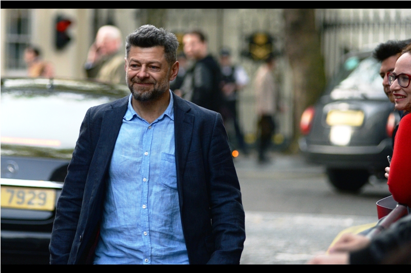 Andy Serkis arrives. He's not even in this movie. Nothing makes sense.