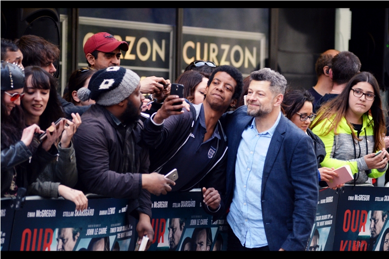"""Andy Serkis :  """"It appears to be a photo of you outside a library. What am I supposed to make of that??"""""""