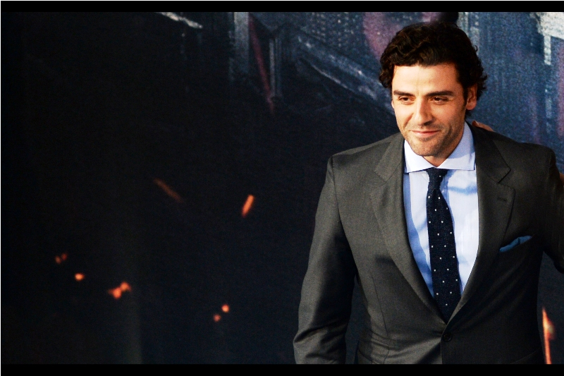 Oscar Isaac is arguably best known for playing an action figure in the latest range of Star Wars toys and their accompanying ads. He now plays the purple faced En Sabah Nur, aka Apocalypse, in this movie.