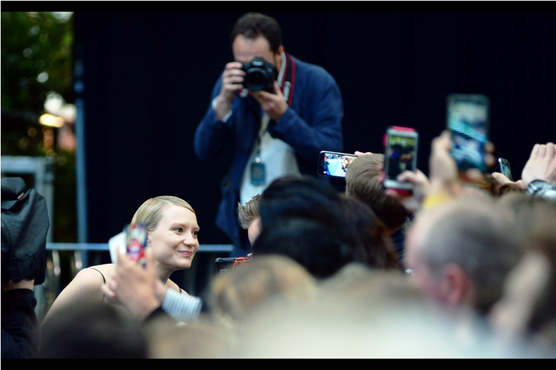 Australia's own Mia Wasikowska was a finalist in the 2011 National Portrait Gallery photographic prize in Australia. So deep down, you know she's also judging you on the way you're taking that selfie.