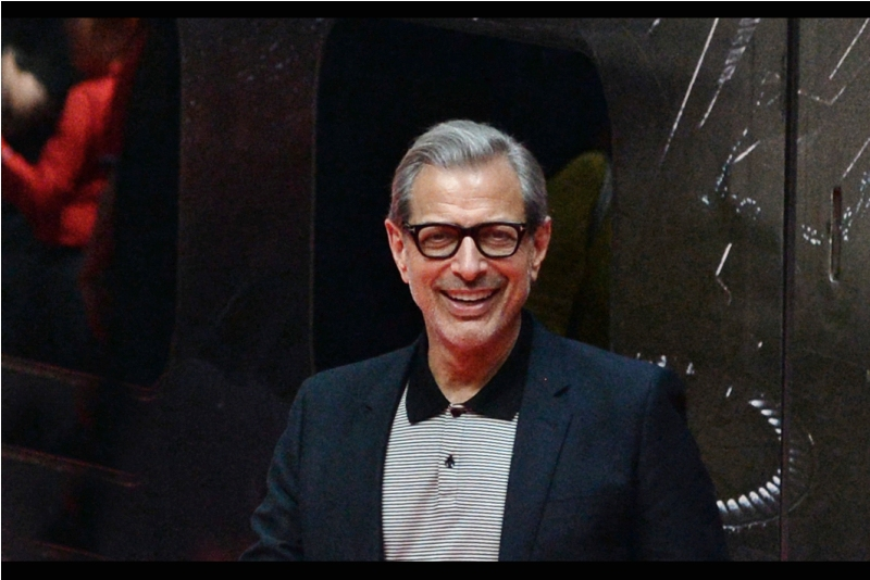 I'm being smiled at by Jeff Goldblum. Or perhaps my Nikon 80-200mm is. It's a pretty great lens, very worthy of amiable cheer.