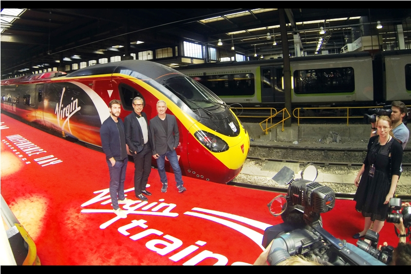 """We're still looking for other sponsors. We've got Virgin for official train travel partner, but if you know of a camera, cap or carpet business that wants to get onboard, let us know!"""