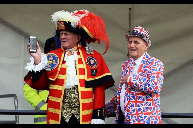 """""""The bell's too heavy and it's too analogue. From now on, all us town criers are using this App...."""""""