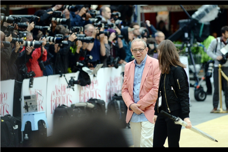 """""""Jane, I'm wearing a combination Pastel yellow trousers, pastel blue shirt, and pastel salmon jacket.... you HAD to have nonwn I'd need a pastel green tie to complete the ensemble. Now I just look ridiculous"""". .. I believe this might be producer Jon Plowman."""