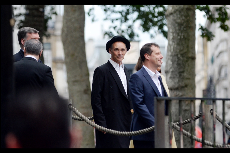 """Mark Rylance's accent and wig in """"The Gunman"""" wasn't so much forgettable as unrememberable... however he was excellent in Bridge of Spies. And if he's forgotten The Gunman, then despite  photographing Charlize Theron at the premiere , so have I."""