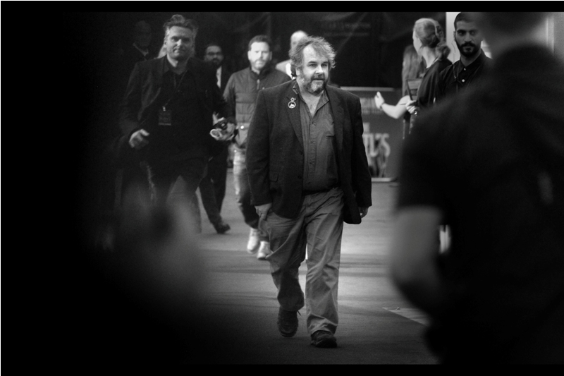 .... and then, randomly, Peter Jackson who directed the Lord of the Rings trilogy,  The Hobbit Trilogy (including the third one) , and  The Lovely Bones  showed up.