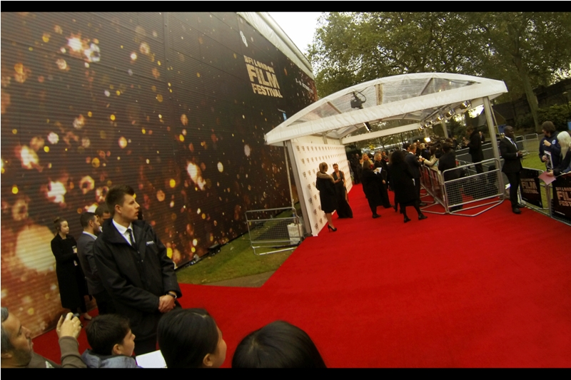 "The temporary Embankment cinema for BFI LFF was also used at  yesterday's premiere for ""Elle""  attended by director Paul Verhoeven and actress Isabelle Huppert. I'm not sure what they're doing with it after the festival. I'd be interested in buying it if the prices is staggeringly low."