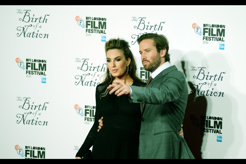 """""""Watch out for the one photographer. He wears a backwards baseball cap - they're NEVER that cool""""  - Armie Hammer's +1 at this event was his wife actress Elizabeth Chambers."""