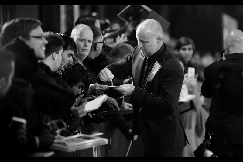 """And you're sure Jessie Eisenberg also signed on behalf of Ben Affleck at the Batman v Superman premiere?""  -  I was there . I don't know if he did, but he certainly offered."